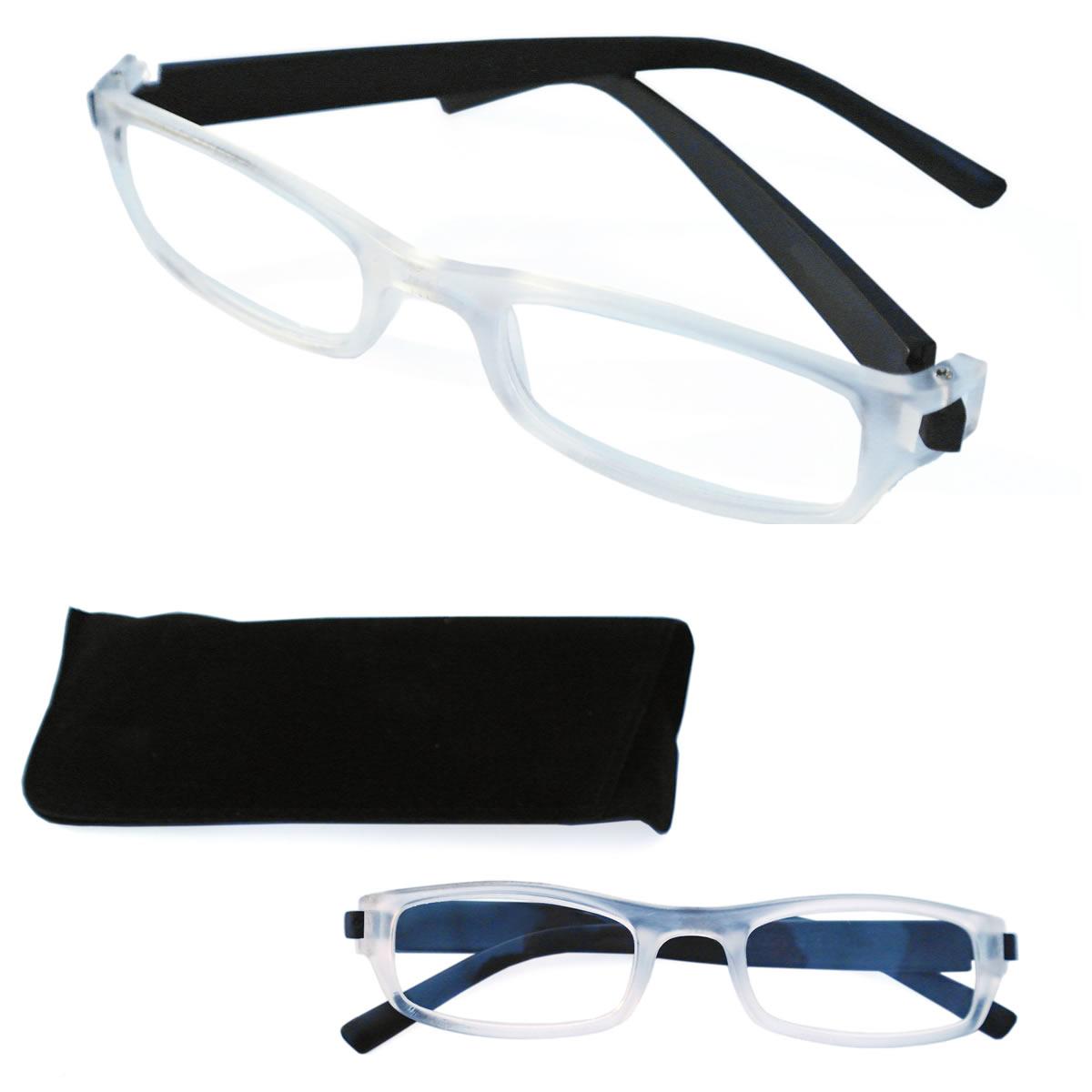 ls lesebrille brille lesehilfe sehhilfe inkl samt etui 1. Black Bedroom Furniture Sets. Home Design Ideas