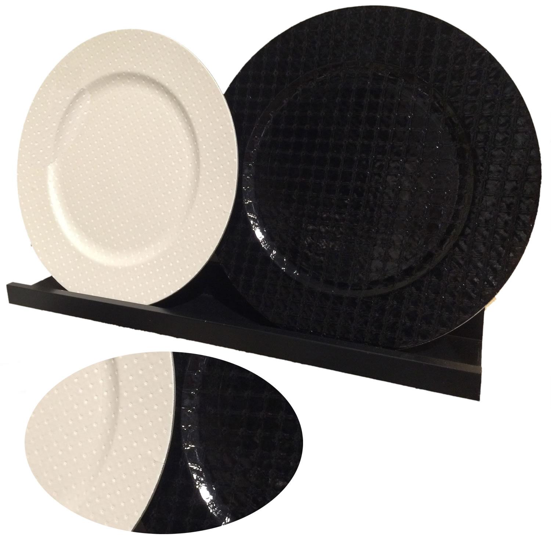design dekoteller platzteller dekoration servierteller. Black Bedroom Furniture Sets. Home Design Ideas