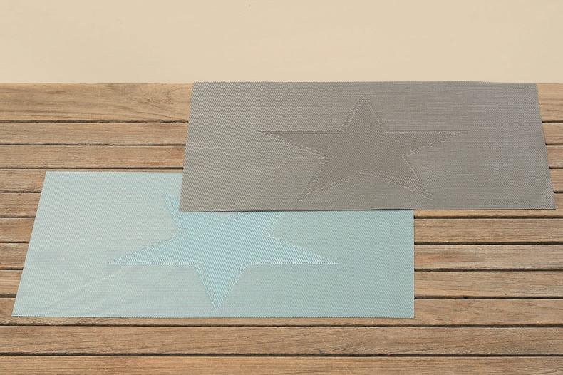 design tischset platzmatte platzset unterlage abwaschbar usa retro stern sterne ebay. Black Bedroom Furniture Sets. Home Design Ideas