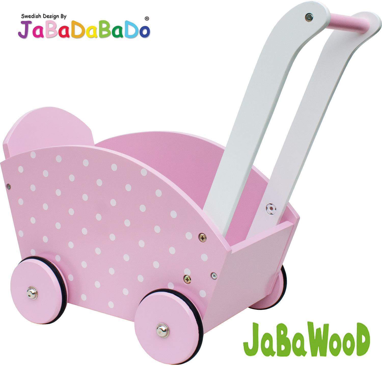 Lauflernwagen Holz Puppenwagen ~ Details zu JaBaDaBaDo Holz Puppenwagen Lauflernwagen Holzpuppenwage n