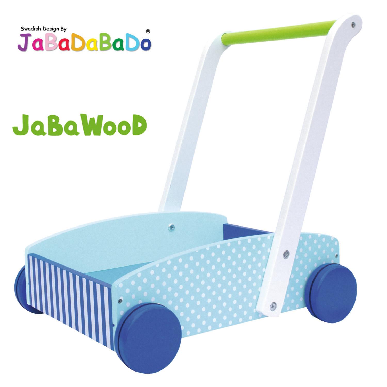 Lauflernwagen Holz Kippsicher Mit Bremse ~ JaBaDaBaDo Holz Lauflernwagen Lauflernhilfe Gehhilfe Laufhilfe Bremse