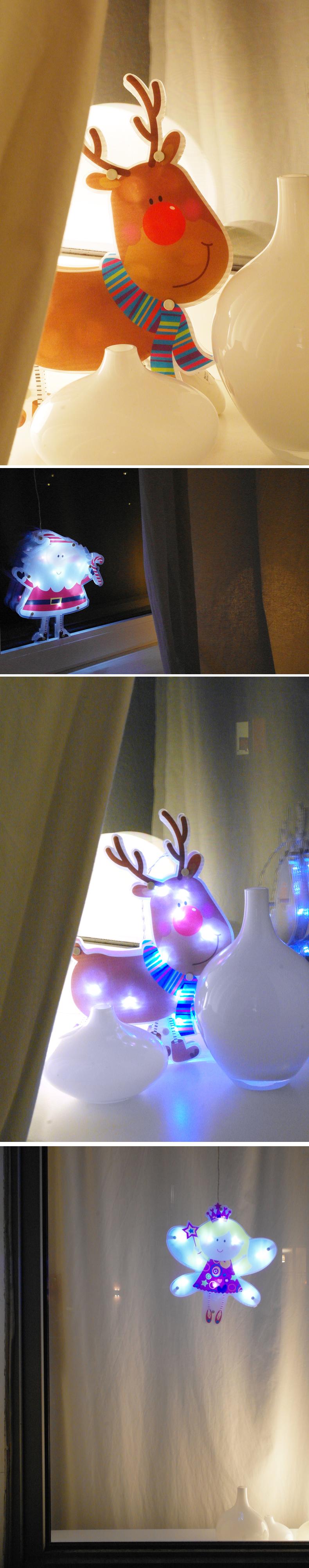 Kinder weihnachtsbeleuchtung fenster lampe fensterbild for Fenster weihnachtsbeleuchtung