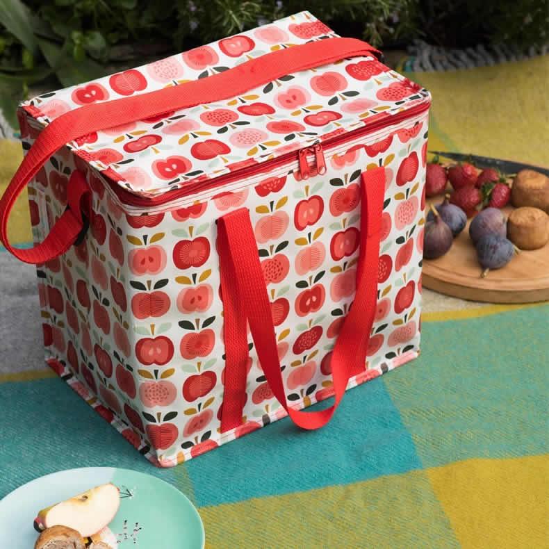 ... Thermotasche recycled Lunchbag Kühlbox Retro Vintage Picknick | eBay
