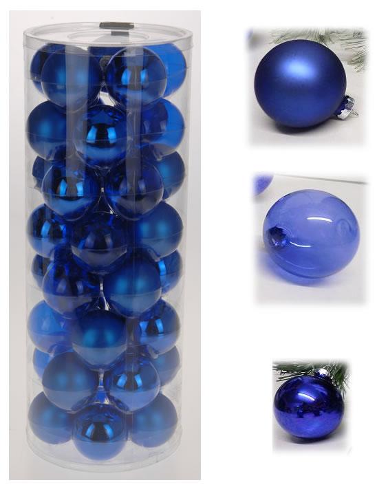 36 design glas weihnachtskugeln christbaumschmuck for Christbaumkugeln blau