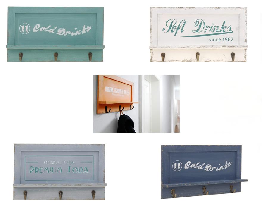 holz wandgarderobe hakenleiste garderobe schl sselbrett wandhaken kleiderhaken ebay. Black Bedroom Furniture Sets. Home Design Ideas