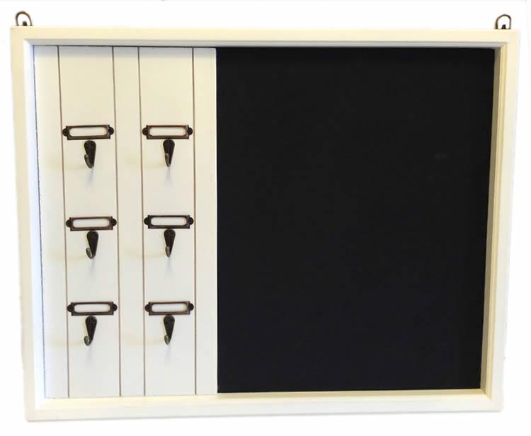 holz memotafel schl sselbrett schl sselleiste. Black Bedroom Furniture Sets. Home Design Ideas
