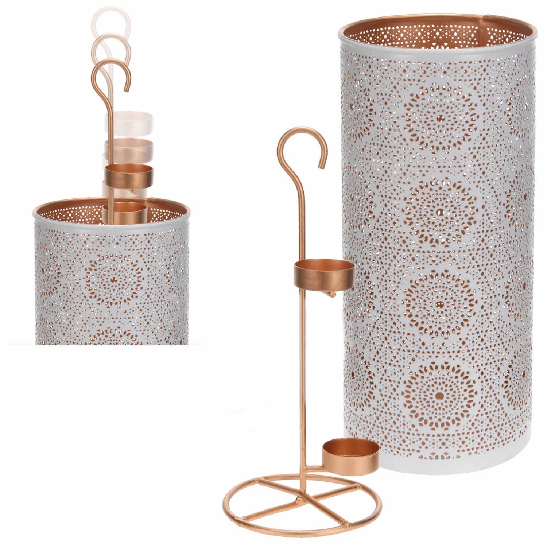 design windlicht metall teelichthalter kerzenst nder kerzenhalter antik shabby ebay. Black Bedroom Furniture Sets. Home Design Ideas