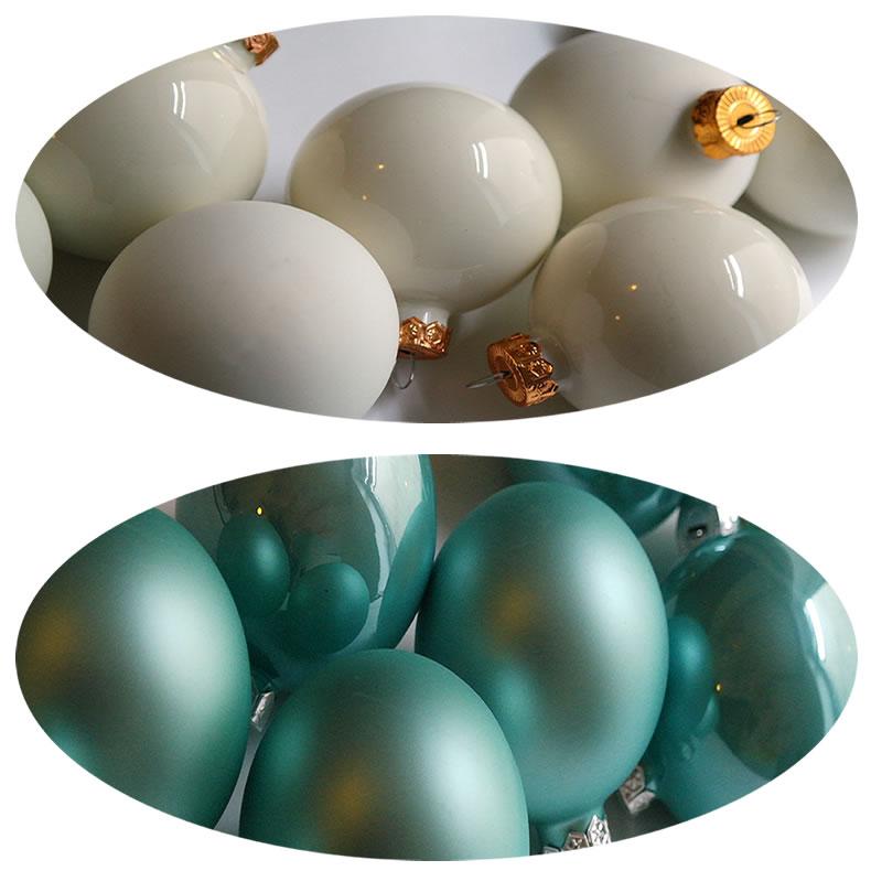 8 design weihnachtskugeln christbaumkugeln kugel glas dekokugeln baumschmuck ebay. Black Bedroom Furniture Sets. Home Design Ideas
