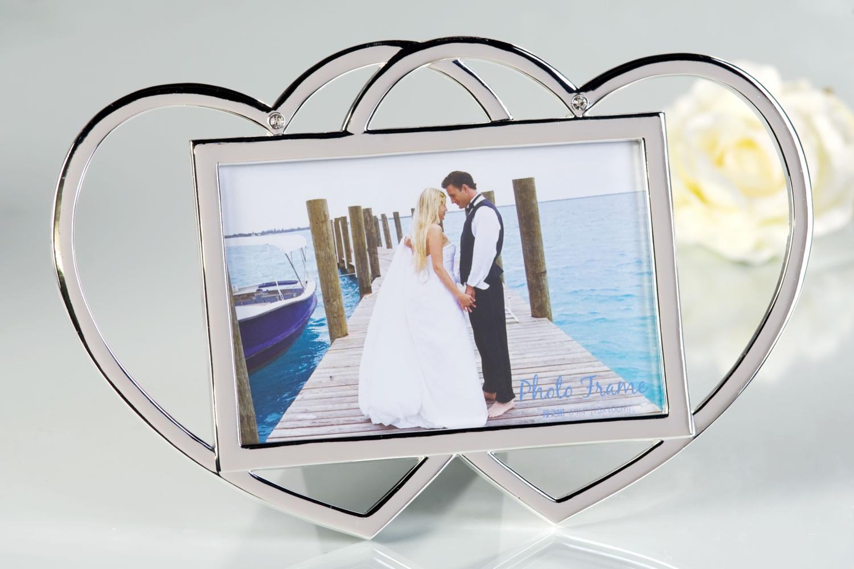Design Bilderrahmen Fotorahmen Hochzeit Verlobung Heirat Antrag Herz ...