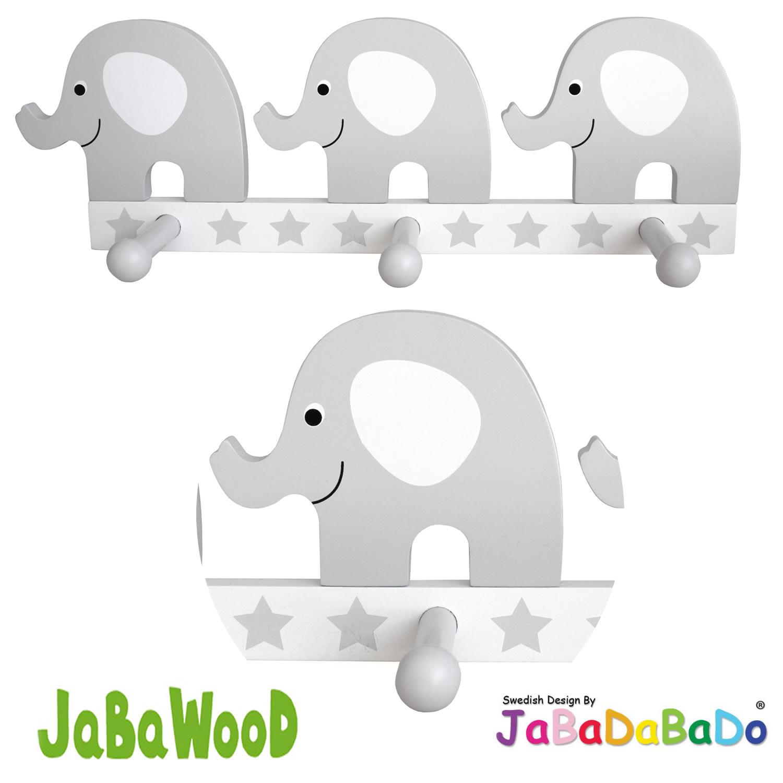 JaBaDaBaDo Holz Kinder Wandhaken Garderobe Haken Kleiderhaken ...