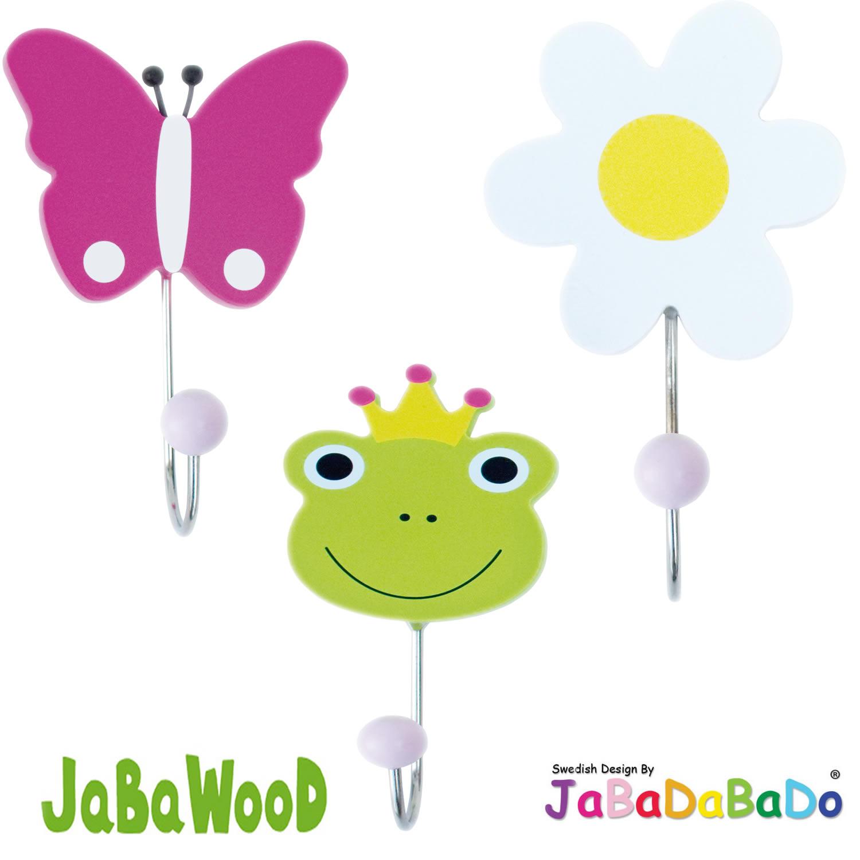 Erstaunlich Garderobenhaken Kinderzimmer Sammlung Von Jabadabado-holz-kinder-wandhaken-garderobe-haken -kleiderhaken-kindergarderobe