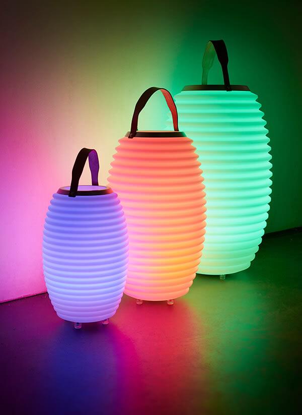 LED Bluetooth Lautsprecher Nikki Amsterdam Color 50 SYNC Deko Lampe Weinkühler   eBay