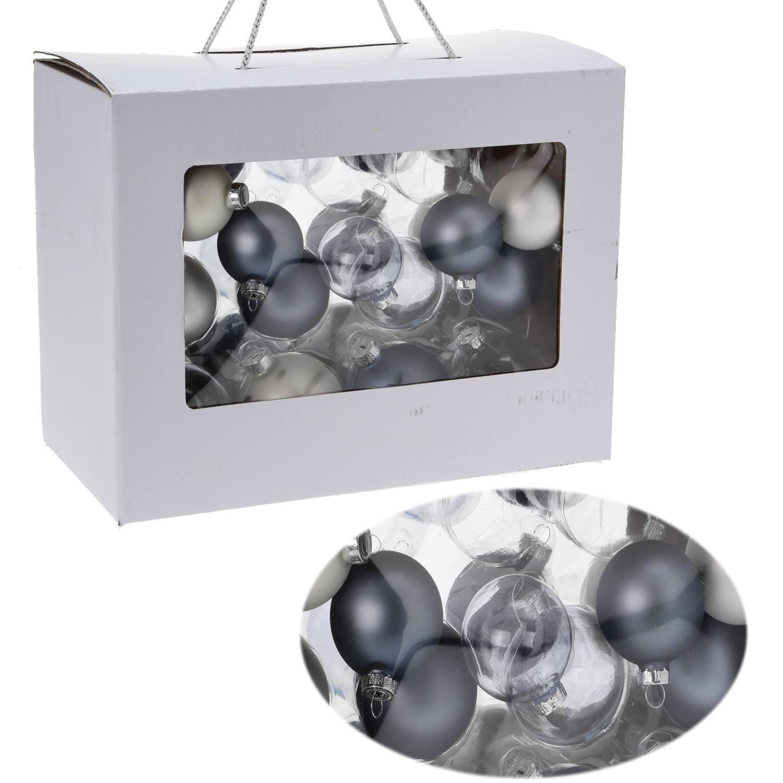 26 design glas weihnachtskugeln christbaumkugeln kugel for Weihnachtskugeln glas grau