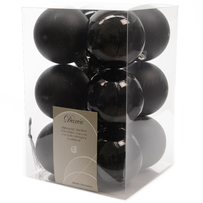 12 design 6cm weihnachtskugeln christbaumkugeln kugel for Weihnachtsbaumkugeln schwarz