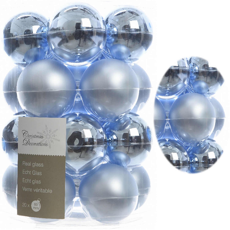 20 design weihnachtskugeln christbaumkugeln kugel glas - Christbaumkugeln eisblau ...